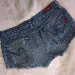 Citizens of Humanity Cut Off Shorts Jorts